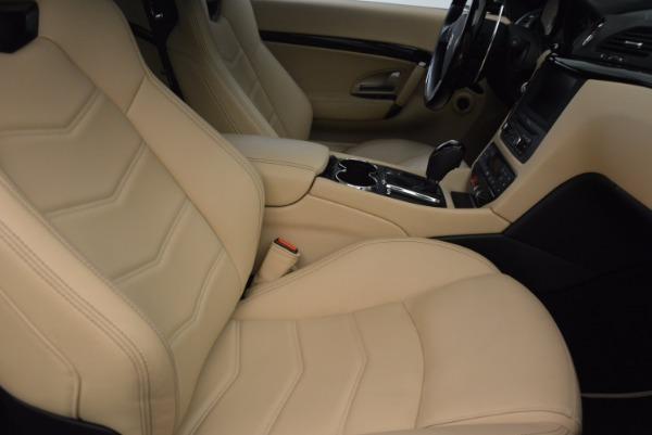 Used 2015 Maserati GranTurismo Sport Coupe for sale Sold at Alfa Romeo of Westport in Westport CT 06880 23