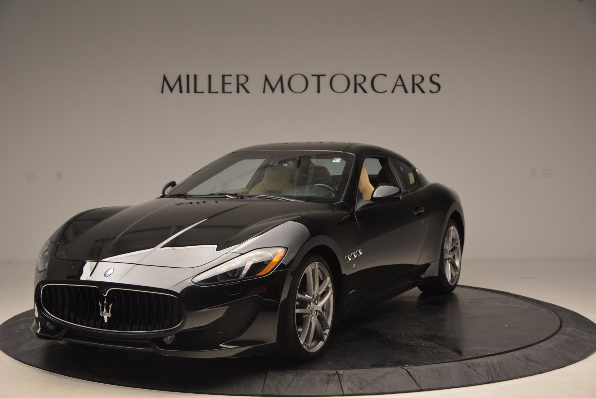 Used 2015 Maserati GranTurismo Sport Coupe for sale Sold at Alfa Romeo of Westport in Westport CT 06880 1