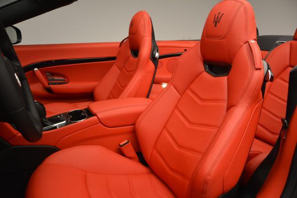 New 2017 Maserati GranTurismo Convertible Sport for sale Sold at Alfa Romeo of Westport in Westport CT 06880 19