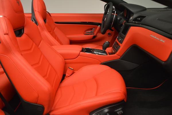 New 2017 Maserati GranTurismo Convertible Sport for sale Sold at Alfa Romeo of Westport in Westport CT 06880 24