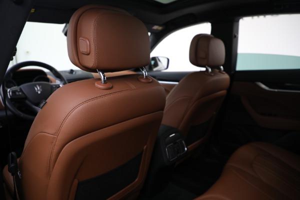 Used 2018 Maserati Levante Q4 for sale $57,900 at Alfa Romeo of Westport in Westport CT 06880 19