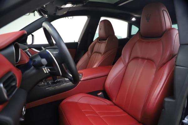 Used 2018 Maserati Levante S GranSport for sale $63,900 at Alfa Romeo of Westport in Westport CT 06880 14