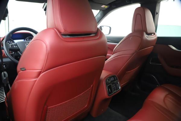 Used 2018 Maserati Levante S GranSport for sale $63,900 at Alfa Romeo of Westport in Westport CT 06880 21