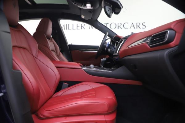 Used 2018 Maserati Levante S GranSport for sale $63,900 at Alfa Romeo of Westport in Westport CT 06880 23