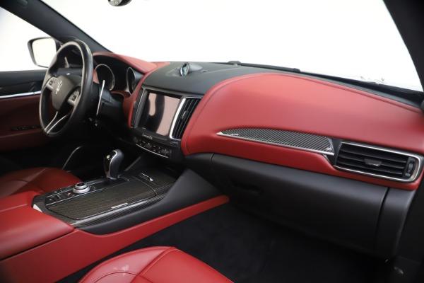 Used 2018 Maserati Levante S GranSport for sale $63,900 at Alfa Romeo of Westport in Westport CT 06880 24