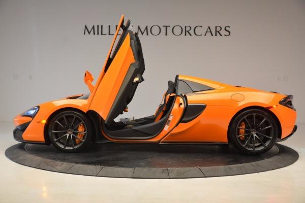New 2018 McLaren 570S Spider for sale Sold at Alfa Romeo of Westport in Westport CT 06880 15