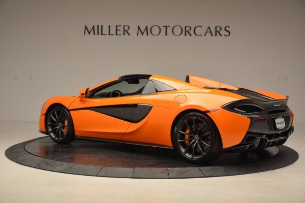 New 2018 McLaren 570S Spider for sale Sold at Alfa Romeo of Westport in Westport CT 06880 4