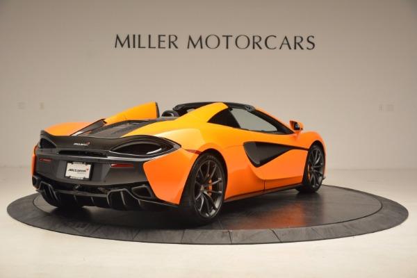 New 2018 McLaren 570S Spider for sale Sold at Alfa Romeo of Westport in Westport CT 06880 7