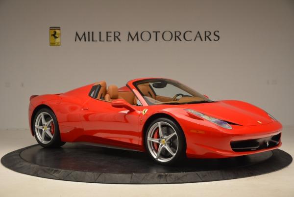 Used 2012 Ferrari 458 Spider for sale Sold at Alfa Romeo of Westport in Westport CT 06880 10