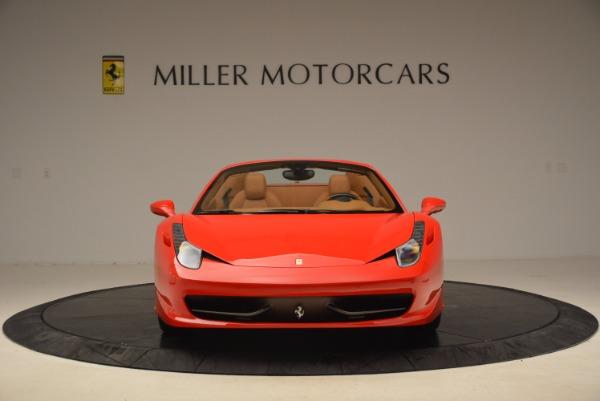 Used 2012 Ferrari 458 Spider for sale Sold at Alfa Romeo of Westport in Westport CT 06880 12