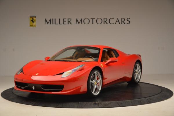 Used 2012 Ferrari 458 Spider for sale Sold at Alfa Romeo of Westport in Westport CT 06880 13