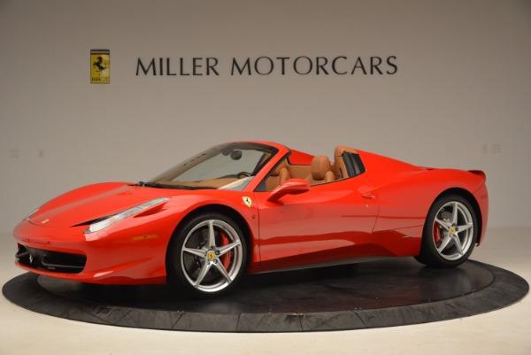 Used 2012 Ferrari 458 Spider for sale Sold at Alfa Romeo of Westport in Westport CT 06880 2