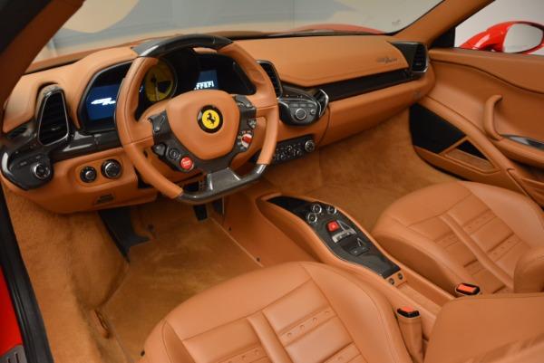 Used 2012 Ferrari 458 Spider for sale Sold at Alfa Romeo of Westport in Westport CT 06880 25