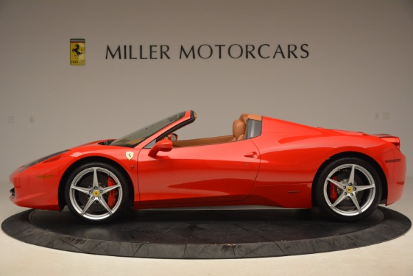 Used 2012 Ferrari 458 Spider for sale Sold at Alfa Romeo of Westport in Westport CT 06880 3