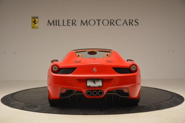 Used 2012 Ferrari 458 Spider for sale Sold at Alfa Romeo of Westport in Westport CT 06880 6