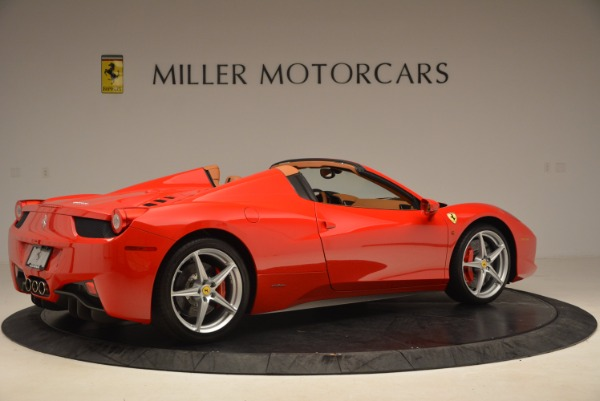 Used 2012 Ferrari 458 Spider for sale Sold at Alfa Romeo of Westport in Westport CT 06880 8