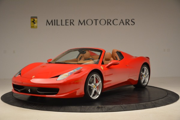 Used 2012 Ferrari 458 Spider for sale Sold at Alfa Romeo of Westport in Westport CT 06880 1
