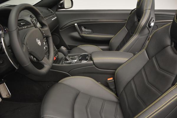 New 2017 Maserati GranTurismo Convertible Sport for sale Sold at Alfa Romeo of Westport in Westport CT 06880 22