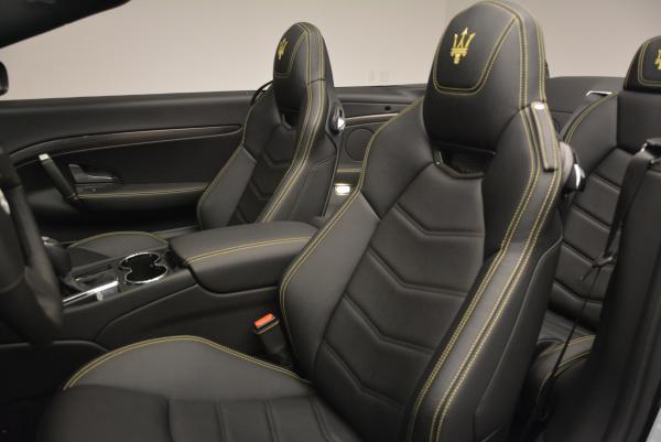 New 2017 Maserati GranTurismo Convertible Sport for sale Sold at Alfa Romeo of Westport in Westport CT 06880 23