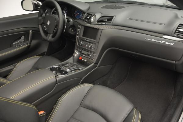 New 2017 Maserati GranTurismo Convertible Sport for sale Sold at Alfa Romeo of Westport in Westport CT 06880 25