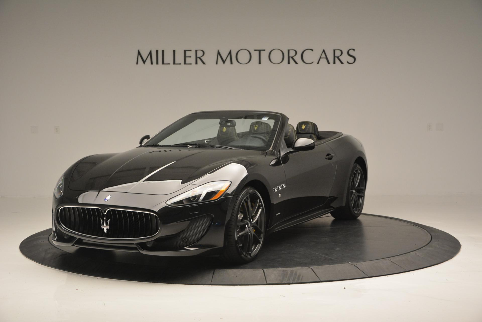 New 2017 Maserati GranTurismo Convertible Sport for sale Sold at Alfa Romeo of Westport in Westport CT 06880 1