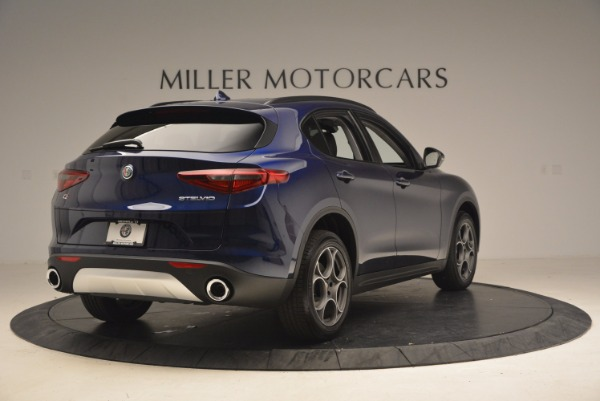 New 2018 Alfa Romeo Stelvio Q4 for sale Sold at Alfa Romeo of Westport in Westport CT 06880 7