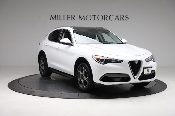 Used 2018 Alfa Romeo Stelvio Q4 for sale Sold at Alfa Romeo of Westport in Westport CT 06880 12