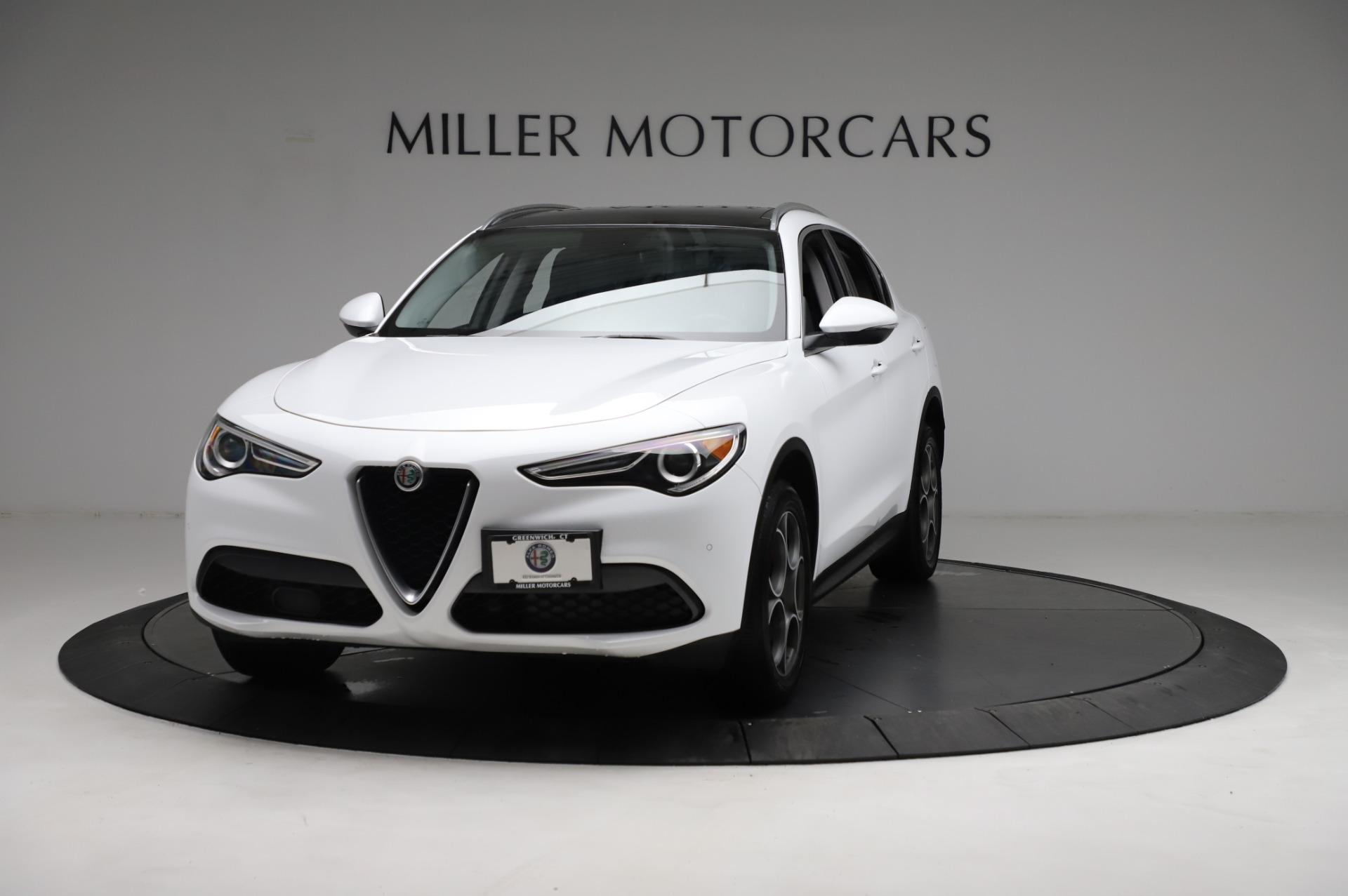 Used 2018 Alfa Romeo Stelvio Q4 for sale Sold at Alfa Romeo of Westport in Westport CT 06880 1