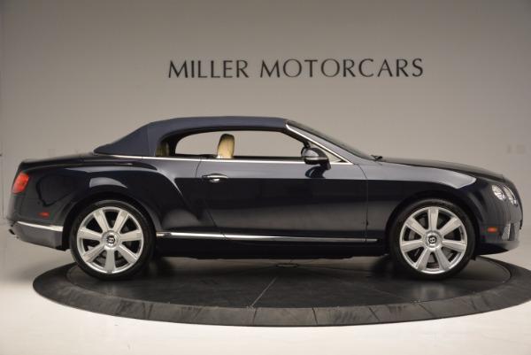Used 2012 Bentley Continental GTC for sale Sold at Alfa Romeo of Westport in Westport CT 06880 22