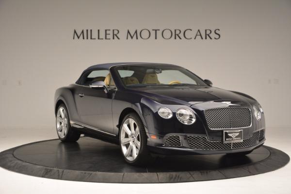 Used 2012 Bentley Continental GTC for sale Sold at Alfa Romeo of Westport in Westport CT 06880 24