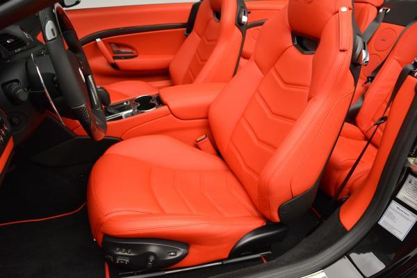 New 2016 Maserati GranTurismo Convertible MC for sale Sold at Alfa Romeo of Westport in Westport CT 06880 22