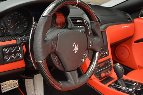 New 2016 Maserati GranTurismo Convertible MC for sale Sold at Alfa Romeo of Westport in Westport CT 06880 24