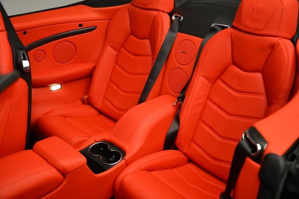 New 2016 Maserati GranTurismo Convertible MC for sale Sold at Alfa Romeo of Westport in Westport CT 06880 25