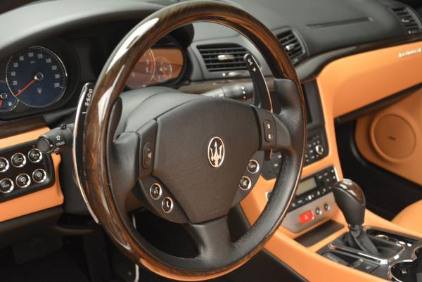 Used 2012 Maserati GranTurismo for sale Sold at Alfa Romeo of Westport in Westport CT 06880 24
