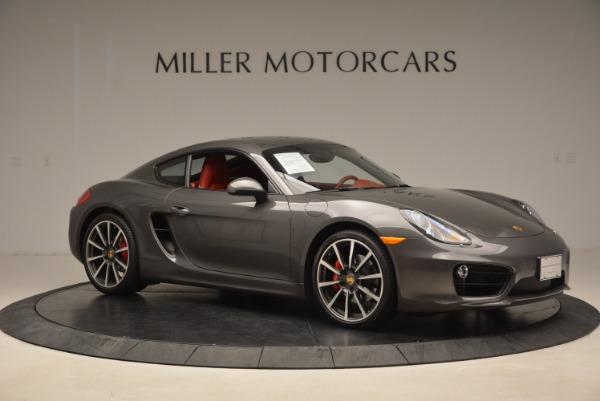 Used 2014 Porsche Cayman S S for sale Sold at Alfa Romeo of Westport in Westport CT 06880 10