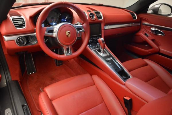 Used 2014 Porsche Cayman S S for sale Sold at Alfa Romeo of Westport in Westport CT 06880 13