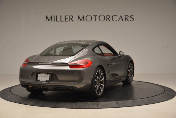 Used 2014 Porsche Cayman S S for sale Sold at Alfa Romeo of Westport in Westport CT 06880 7