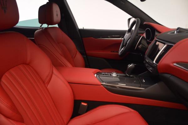 New 2018 Maserati Levante S Q4 GranLusso for sale Sold at Alfa Romeo of Westport in Westport CT 06880 22