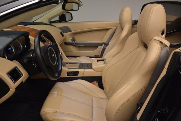 Used 2014 Aston Martin V8 Vantage Roadster for sale Sold at Alfa Romeo of Westport in Westport CT 06880 20