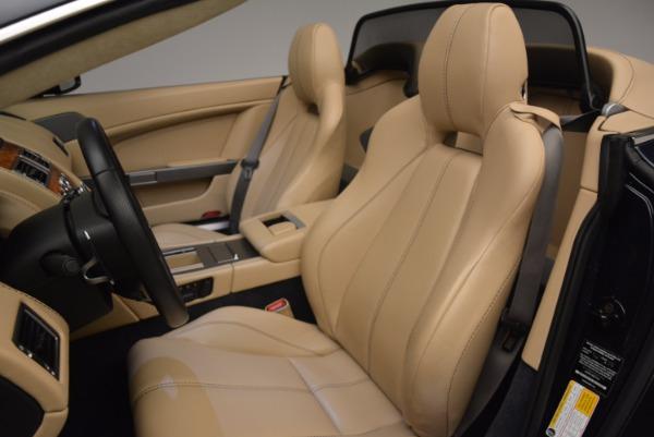 Used 2014 Aston Martin V8 Vantage Roadster for sale Sold at Alfa Romeo of Westport in Westport CT 06880 23