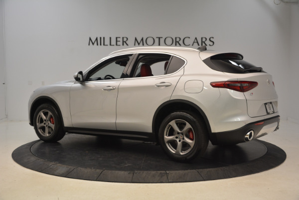 New 2018 Alfa Romeo Stelvio Q4 for sale Sold at Alfa Romeo of Westport in Westport CT 06880 4