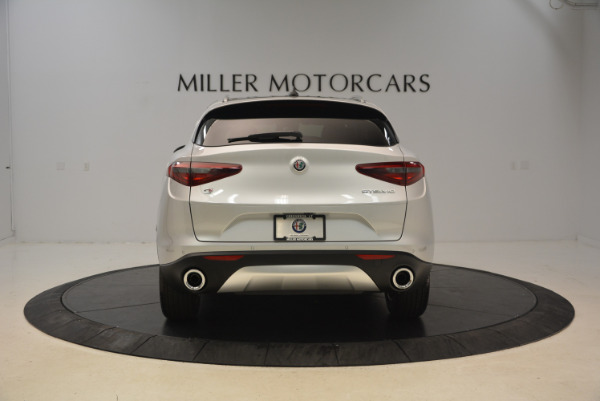 New 2018 Alfa Romeo Stelvio Q4 for sale Sold at Alfa Romeo of Westport in Westport CT 06880 6