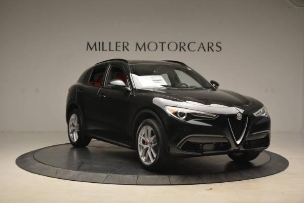 New 2018 Alfa Romeo Stelvio Sport Q4 for sale Sold at Alfa Romeo of Westport in Westport CT 06880 11