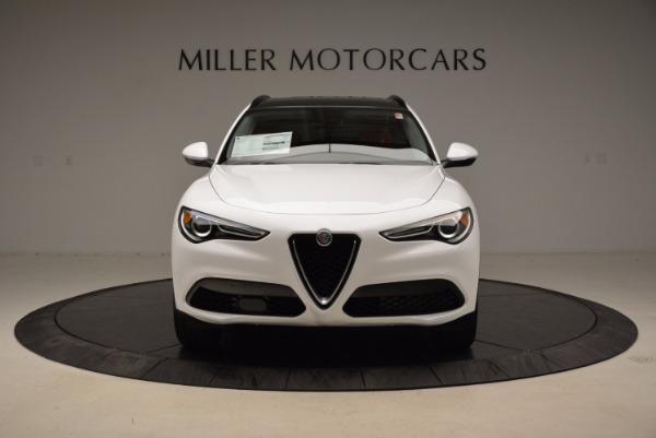 New 2018 Alfa Romeo Stelvio Sport Q4 for sale Sold at Alfa Romeo of Westport in Westport CT 06880 12