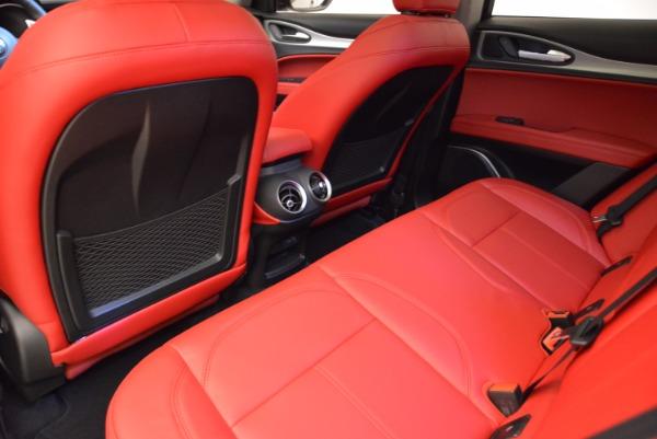New 2018 Alfa Romeo Stelvio Sport Q4 for sale Sold at Alfa Romeo of Westport in Westport CT 06880 16