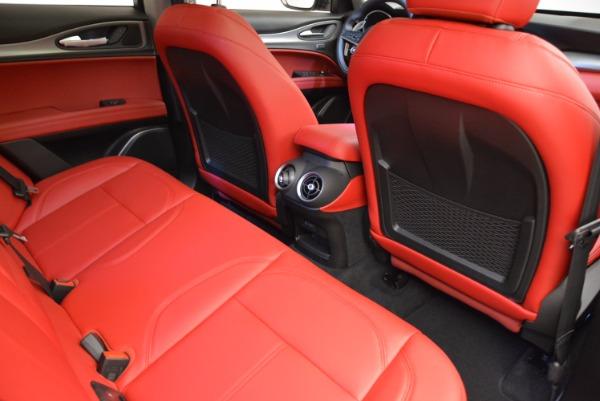 New 2018 Alfa Romeo Stelvio Sport Q4 for sale Sold at Alfa Romeo of Westport in Westport CT 06880 22