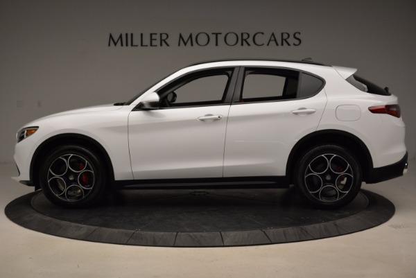 New 2018 Alfa Romeo Stelvio Sport Q4 for sale Sold at Alfa Romeo of Westport in Westport CT 06880 3