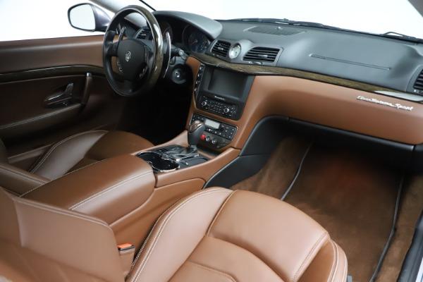 Used 2016 Maserati GranTurismo Sport for sale Sold at Alfa Romeo of Westport in Westport CT 06880 18