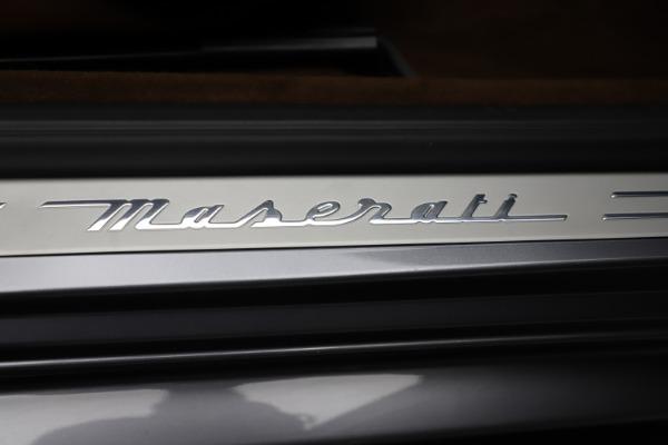 Used 2016 Maserati GranTurismo Sport for sale Sold at Alfa Romeo of Westport in Westport CT 06880 22