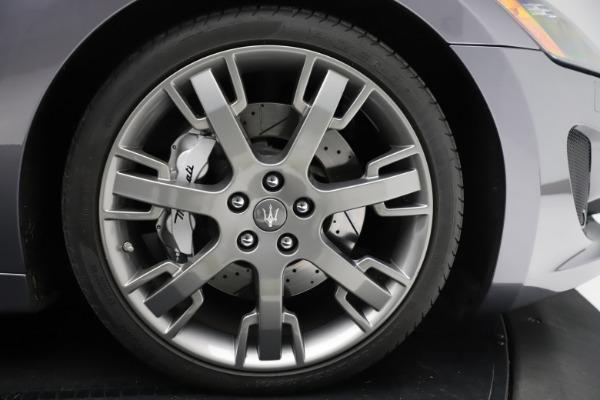 Used 2016 Maserati GranTurismo Sport for sale Sold at Alfa Romeo of Westport in Westport CT 06880 23